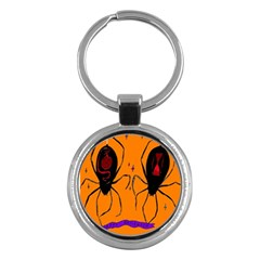 Happy Hellpween Spider Key Chains (round)  by AnjaniArt