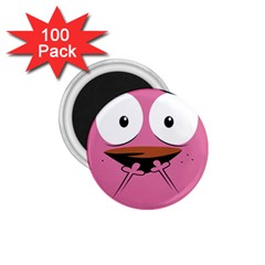 Funny Face 1 75  Magnets (100 Pack)  by AnjaniArt