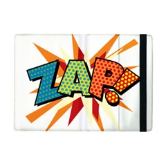 Comic Book Zap! Sans  Ipad Mini 2 Flip Cases by ComicBookPOP