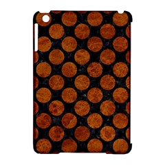 Circles2 Black Marble & Brown Marble Apple Ipad Mini Hardshell Case (compatible With Smart Cover) by trendistuff