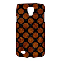 Circles2 Black Marble & Brown Marble Samsung Galaxy S4 Active (i9295) Hardshell Case by trendistuff