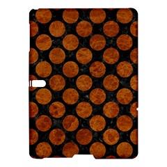 Circles2 Black Marble & Brown Marble Samsung Galaxy Tab S (10 5 ) Hardshell Case  by trendistuff