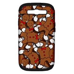 Christmas Candy Seamless Pattern Vectors Samsung Galaxy S Iii Hardshell Case (pc+silicone) by Onesevenart