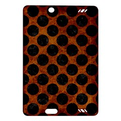 Circles2 Black Marble & Brown Marble (r) Amazon Kindle Fire Hd (2013) Hardshell Case by trendistuff