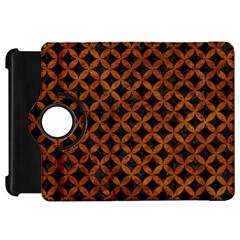 Circles3 Black Marble & Brown Marble Kindle Fire Hd Flip 360 Case by trendistuff