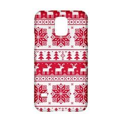 Christmas Patterns Samsung Galaxy S5 Hardshell Case  by Onesevenart