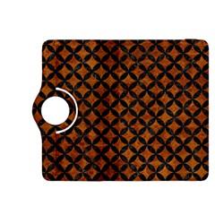 Circles3 Black Marble & Brown Marble (r) Kindle Fire Hdx 8 9  Flip 360 Case by trendistuff