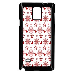 Christmas Pattern  Samsung Galaxy Note 4 Case (black) by Onesevenart