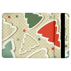 Christmas Tree Stars Pattern Ipad Air Flip by Onesevenart