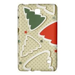 Christmas Tree Stars Pattern Samsung Galaxy Tab 4 (8 ) Hardshell Case  by Onesevenart