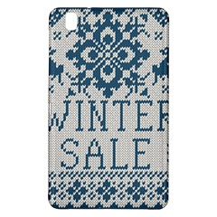 Christmas Elements With Knitted Pattern Vector   Samsung Galaxy Tab Pro 8 4 Hardshell Case by Onesevenart