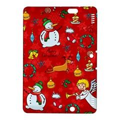 Cute Christmas Seamless Pattern Vector  Kindle Fire Hdx 8 9  Hardshell Case by Onesevenart