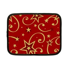Elements Of Christmas Decorative Pattern Vector Netbook Case (small)  by Onesevenart