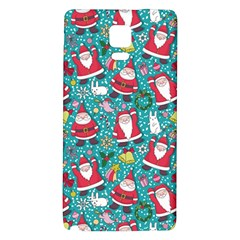 Cute Christmas Seamless Pattern Vector   Galaxy Note 4 Back Case by Onesevenart