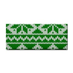 Knitted Fabric Christmas Pattern Vector Cosmetic Storage Cases by Onesevenart