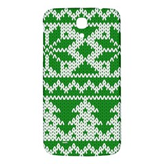 Knitted Fabric Christmas Pattern Vector Samsung Galaxy Mega I9200 Hardshell Back Case by Onesevenart