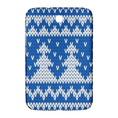 Knitted Fabric Christmas Pattern Vector Samsung Galaxy Note 8.0 N5100 Hardshell Case  by Onesevenart