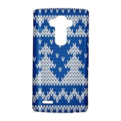 Knitted Fabric Christmas Pattern Vector Lg G4 Hardshell Case by Onesevenart