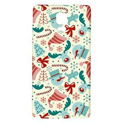 Pattern Christmas Elements Seamless Vector       Galaxy Note 4 Back Case by Onesevenart