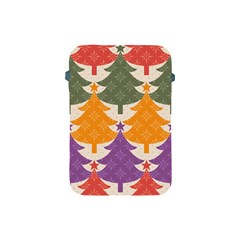 Tree Christmas Pattern Apple Ipad Mini Protective Soft Cases by Onesevenart