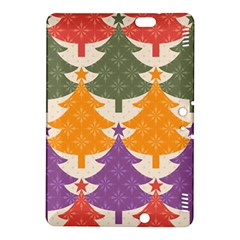 Tree Christmas Pattern Kindle Fire Hdx 8 9  Hardshell Case by Onesevenart