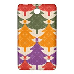 Tree Christmas Pattern Samsung Galaxy Tab 4 (8 ) Hardshell Case  by Onesevenart