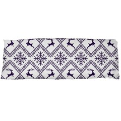Simple Christmas Pattern Seamless Vectors  Body Pillow Case (Dakimakura) by Onesevenart