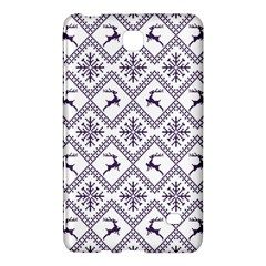 Simple Christmas Pattern Seamless Vectors  Samsung Galaxy Tab 4 (8 ) Hardshell Case  by Onesevenart