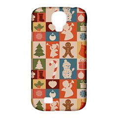 Xmas  Cute Christmas Seamless Pattern Samsung Galaxy S4 Classic Hardshell Case (pc+silicone) by Onesevenart