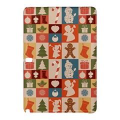 Xmas  Cute Christmas Seamless Pattern Samsung Galaxy Tab Pro 12 2 Hardshell Case by Onesevenart