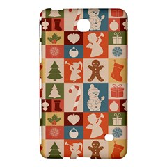 Xmas  Cute Christmas Seamless Pattern Samsung Galaxy Tab 4 (8 ) Hardshell Case  by Onesevenart