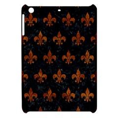 Royal1 Black Marble & Brown Marble (r) Apple Ipad Mini Hardshell Case by trendistuff
