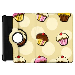 Colorful Cupcakes Pattern Kindle Fire Hd 7  by Valentinaart