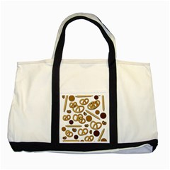 Bakery 3 Two Tone Tote Bag by Valentinaart