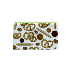 Bakery 3 Cosmetic Bag (xs) by Valentinaart