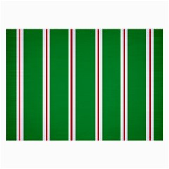 Green Line Large Glasses Cloth by AnjaniArt