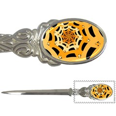 Spider Helloween Yellow Letter Openers by AnjaniArt