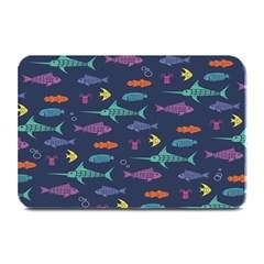 Twiddy Tropical Fish Pattern Plate Mats by AnjaniArt