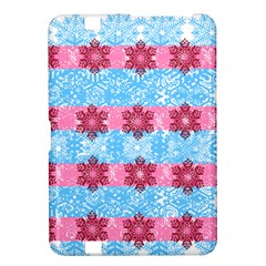 Pink Snowflakes Pattern Kindle Fire Hd 8 9  by Brittlevirginclothing