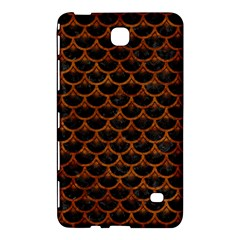 Scales3 Black Marble & Brown Marble Samsung Galaxy Tab 4 (8 ) Hardshell Case  by trendistuff