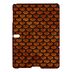 Scales3 Black Marble & Brown Marble (r) Samsung Galaxy Tab S (10 5 ) Hardshell Case  by trendistuff