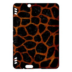 Skin1 Black Marble & Brown Marble (r) Kindle Fire Hdx Hardshell Case by trendistuff