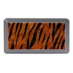 Skin3 Black Marble & Brown Marble (r) Memory Card Reader (mini) by trendistuff