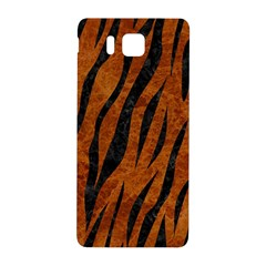 Skin3 Black Marble & Brown Marble (r) Samsung Galaxy Alpha Hardshell Back Case by trendistuff