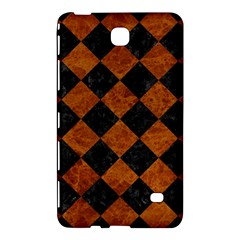 Square2 Black Marble & Brown Marble Samsung Galaxy Tab 4 (8 ) Hardshell Case  by trendistuff