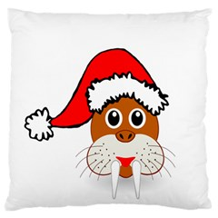 Child Of Artemis Christmas Animal Clipart Standard Flano Cushion Case (one Side) by Onesevenart