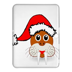 Child Of Artemis Christmas Animal Clipart Samsung Galaxy Tab 4 (10 1 ) Hardshell Case  by Onesevenart