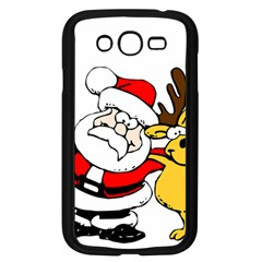 Christmas Santa Claus Samsung Galaxy Grand Duos I9082 Case (black) by Onesevenart