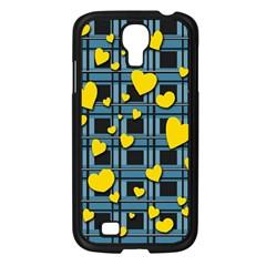 Love Design Samsung Galaxy S4 I9500/ I9505 Case (black) by Valentinaart