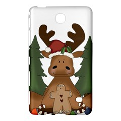 Christmas Moose Samsung Galaxy Tab 4 (8 ) Hardshell Case  by Onesevenart